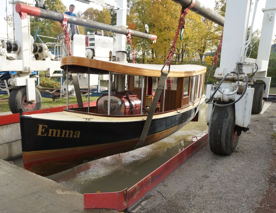 Steam Boat Emma by rainer Radow