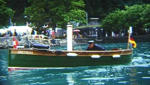 Steamboat Arethusa - Picture 1
