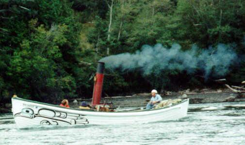 Steamboat Fire Canoe - Picture 1