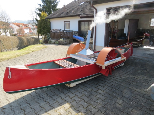 Dampfboot Fulton`s Folly - Bild 1